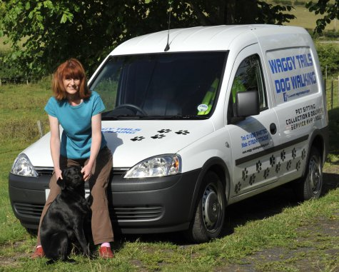 Waggy Tails Dog Walking Service